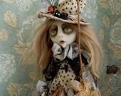 Stellata the Spider Witch creepy Halloween Art Doll OOAK LuLusApple
