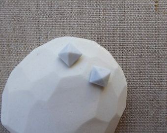 Pyramid Cut Jewel Stud Earrings since2011