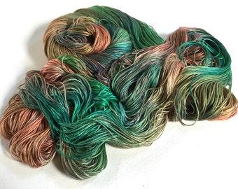 Sea Nymph Silk SeaCell Yarn.  Sweet Musk Roses