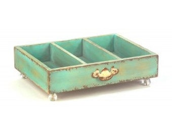 Mint Table-Top  Drawer Display