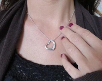 Tiffany & Co. Elsa Peretti Heart Pendant