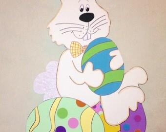 DEBI'S DOING'S PATTERN-Rabbit Wood Pattern Easter Decoration