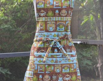 Coffee Lovers Baking/Cooking Apron
