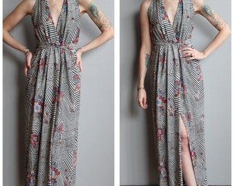 1970s Dress // Soul Night Gown // vintage 70s gown