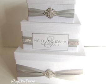 Wedding Money Box, Card Box, Reception Card Box  - Custom Made