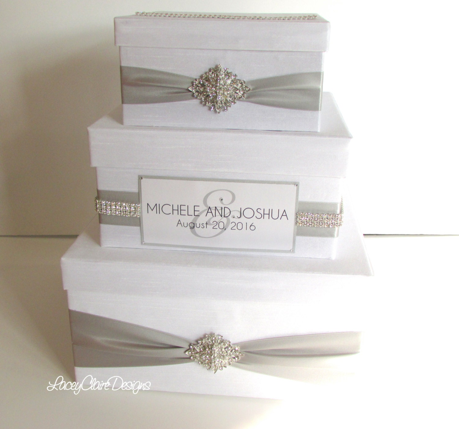 Wedding Money Box: Wedding Money Box Card Box Reception Card Box Custom Made