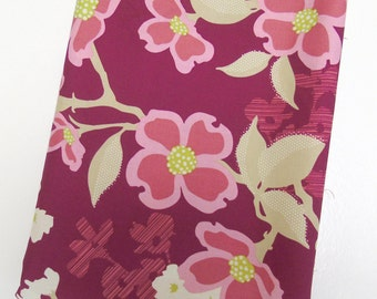 1-3/4 yds Fabric Modern Meadow Dogwood Bloom in Berry by Joel Dewberry