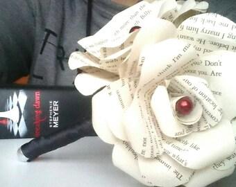 Twilight Inspired Paper Rose Posie Bouquet - Unique Geek Inspired Flowers