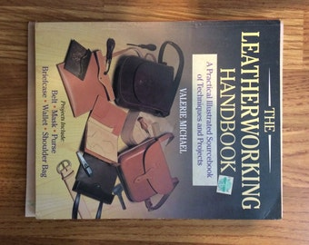 Lot 3 leather working books - The Art of Hand Sewing Leather (Stohmlan), The Leatherworking Handbook (Michael) & How to Make Whips (Edwards)
