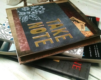 SALE 15% OFF Take Note Journal Notebook Smashbook