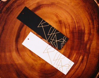 Geometric Shapes Gold Foil Gift Tags, 10 CT.