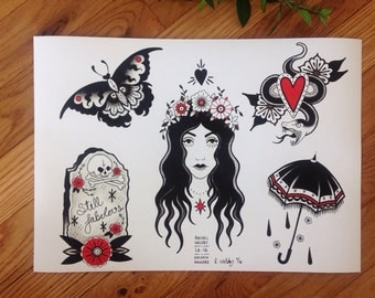 Rachel Welsby - 10 x 14 - Flower Girl Flash Sheet