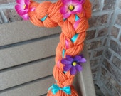 Anna Dress Up Braid, Anna Costume, Yarn Braids