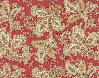 Larkspur - Paisley in Rose by 3 Sisters for Moda Fabrics