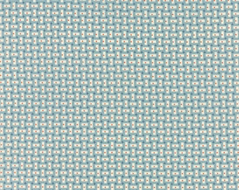 Bread 'n Butter - Rectangles in Light Blue by American Jane for Moda Fabrics