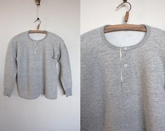 Vintage 1950s grey sweatshirt Size XS