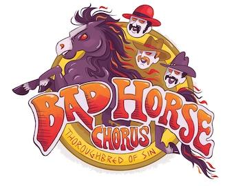 Dr Horrible Bad Horse Chorus art print