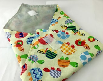 Reusable Sandwich Bag Wrap - Cute Turtles