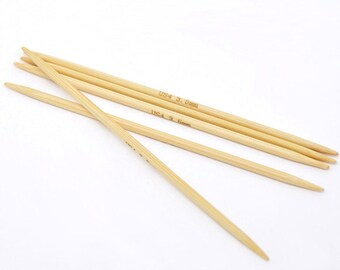 Bamboo DP Knitting Needle