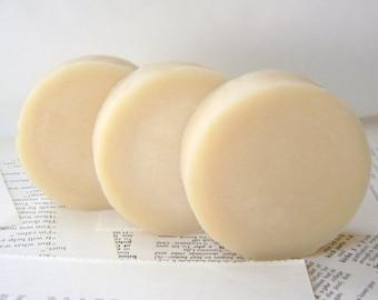 Shaving Soap, Vanilla Sandalwood Handmade Shaving Soap with Tallow and Lanolin for Men