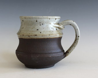 Ceramic Coffee Mug, 14 oz, handmade ceramic cup, handthrown mug, stoneware mug, pottery mug unique coffee mug ceramics and pottery