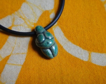 Mini Ceramic Venus of Willendorf Goddess Pendant Necklace