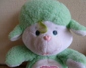 Vintage Care Bear Cousin Gentle Heart Lamb Plush