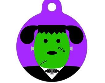 Pet ID Tag - FrankenMutt Pet Tag, Dog Tag, Luggage Tag, Child ID Tag