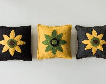 Penny Rug Pillows