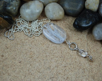 Sterling bead chain necklace