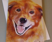 Teddy the Dog art card by...