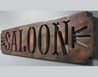 SALOON Sign CLEARANCE