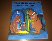 Yogi Bear And The Baby Skunk 1976 Paperback Hana-Barbera USA Horace J Elias