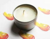 Mango Scented Candle - Vegan Candle - Homemade Candles - Natural Candles - Tin Candle - Container Candle