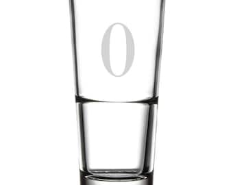 Drinking Glass - 16 oz. - 10516 Monogram Ed HF