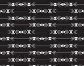 ON SALE - Four Corners Stripe Black C4872 - By Simple Simon and Company - Riley Blake Fabric - By the Yard