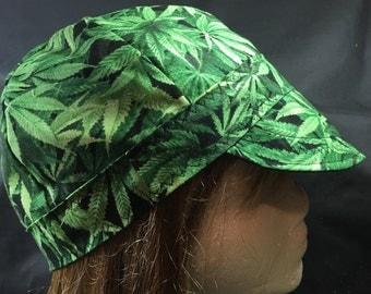 Marijuana Welder Hat Cap Liner