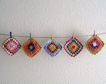 Crochet Coasters Set of 5