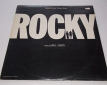 1976 - Rocky - Original Motion Picture Soundtrack - LP Vinyl Record Album - Sylvester Stallone / 70's / Hollywood