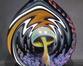 Boro Glass Sale Lampwork Pendant Mushroom Gold Implosion Borosilicate Bead Collection