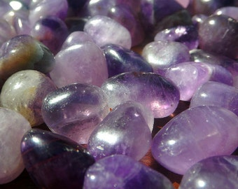 Black Amethyst - 4PCS, Healers healer, tumbled crystal, healing crystal, crystal healing, Reiki healing, Light worker