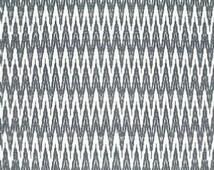 F Schumacher Kilimanjaro ethnic print denim blue off white luxury geometric high fabric extra long lumbar pillow cover toss modern luxe euro