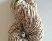 Organic nettle yarn, 200g, handspun organic yarn for knitting, crochet, jewelry making, bags, weaving and arts and crafts.