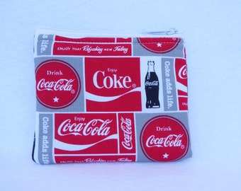 Coca Cola Coin Bag // Coke