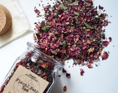 Floral Bath Tea for Stress Relief and Relaxation - gifts for Mom, gifts for women