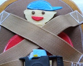 Buckle Your Seatbelt Quiet Book Page / Buckle Up- Car Safety Buckle Quiet Book / Quiet Activity Book / Birthday Gift For Toddler /