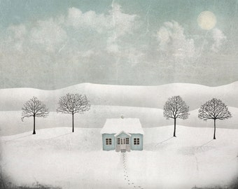 Winterland - Art print (3 different sizes)