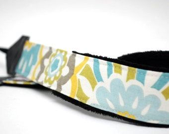 DSLR Camera Strap - Padded Camera Strap - Blue Neck Strap - Sony Camera Strap - Nikon - Photographer Gift - Camera Accessories - Refresh
