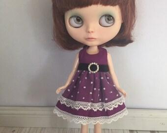 Blythe Bling Party Dress - Purple