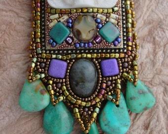 Spirit Bear Eyes Necklace